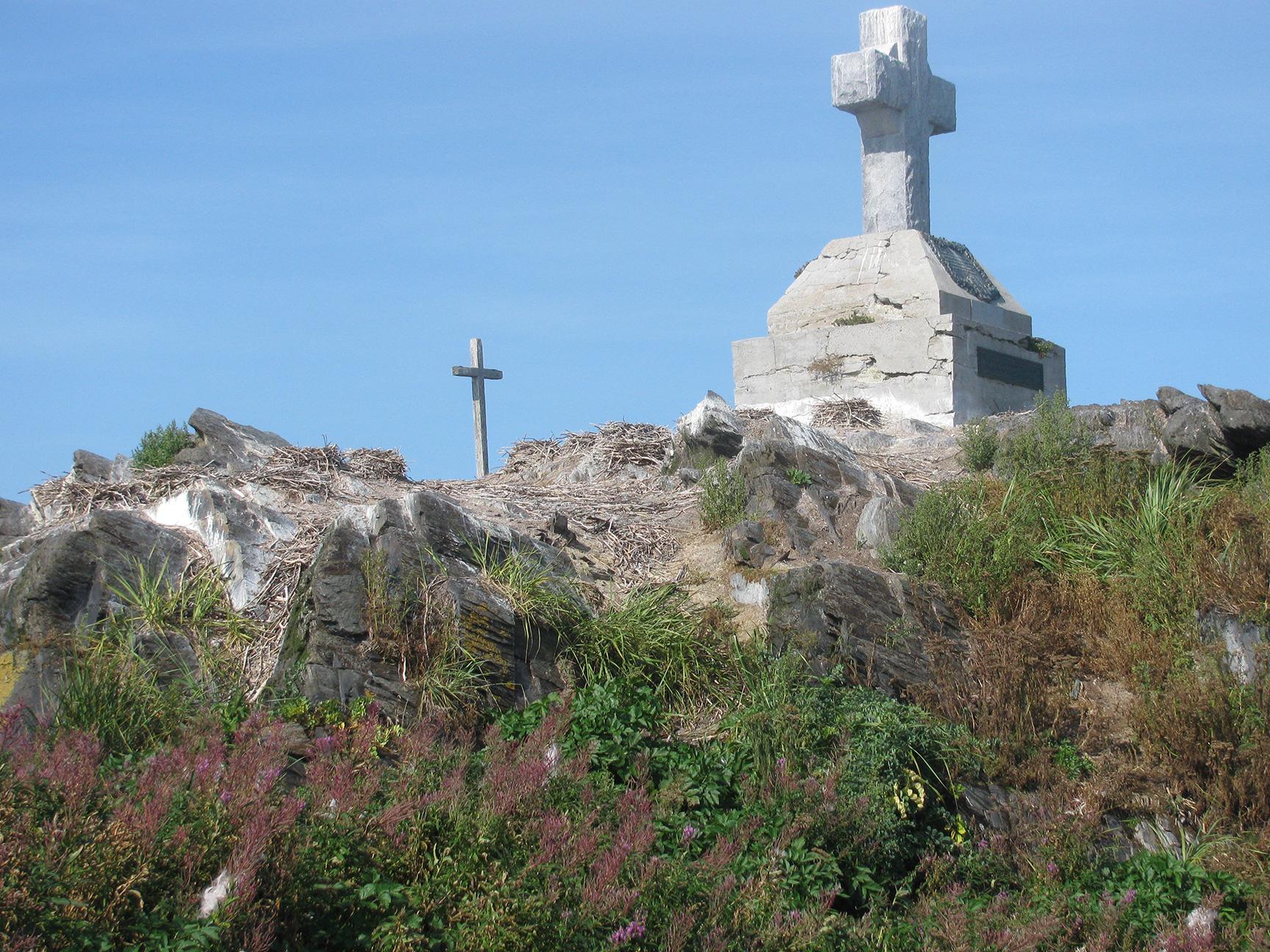 Monument aux Îles Razade (Photo: Réhaume Courtois)