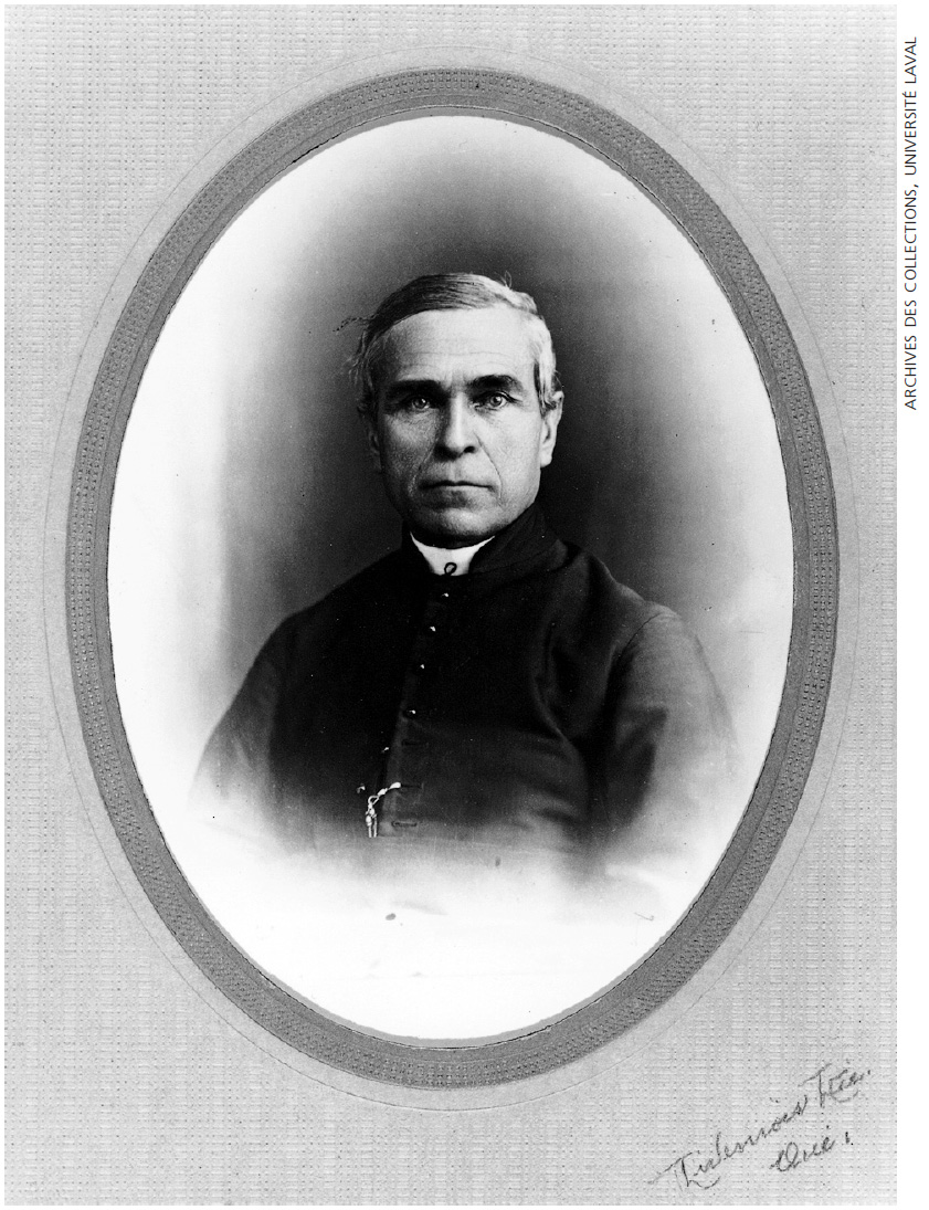 L'abbé Léon Provancher (1820-1892). Photo : Archives des collections de l'Université Laval.