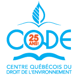Logo Centre québécois du droit de l'environnement (CQDE)