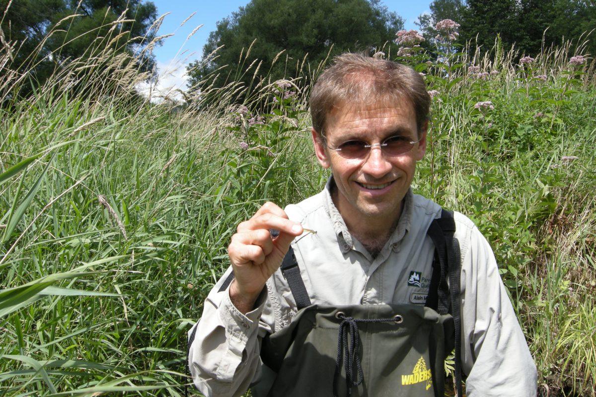 Alain Mochon, bénévole pour la Société Provancher
