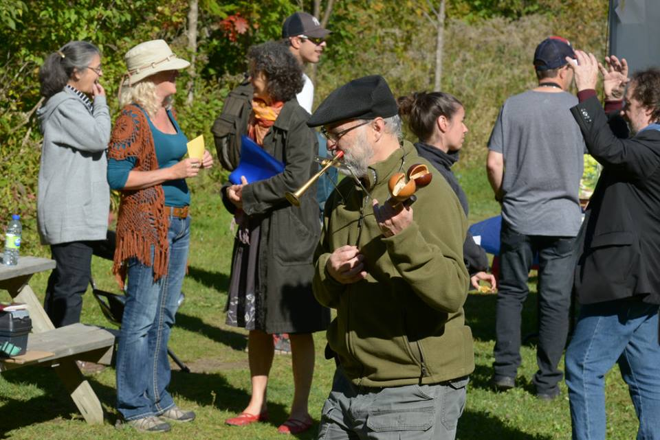 Journée de la culture à la Réserve naturelle du Marais-Léon-Provancher le 2 octobre 2016 (Photo: Nelson Boisvert)