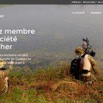 Image-écran de la page Devenez membre de la Société Provencher (Photo: yvanbedardphotonature.com)