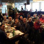 Souper avec les bénévoles de la Société Provancher au Restaurant Le Piolet le 9 décembre 2016.