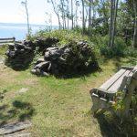 Four Basque au Parc naturel et historique de l'île aux Basques, au mois de septembre 2016 (Photo: Réhaume Courtois)