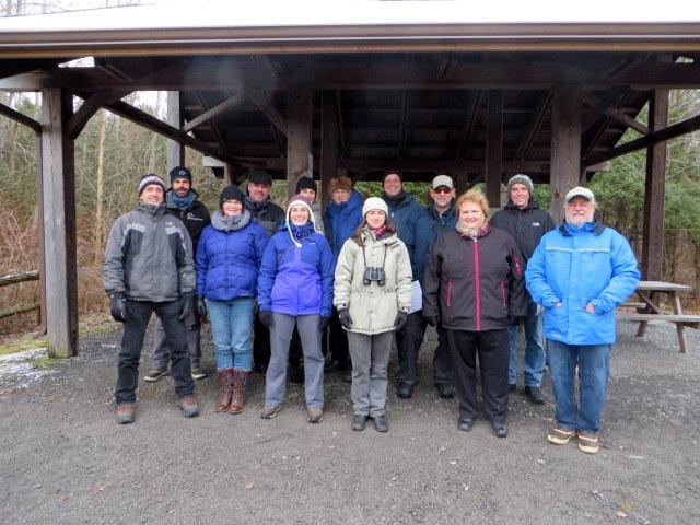 Les représentants du Conseil du Plan conjoint des habitats de l'est et de la Société Provancher (Photo: Réhaume Courtois)
