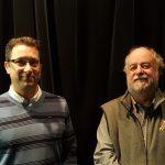 Daniel Fortin et Robert Patenaude lors de la conférence de Daniel Fortin au mois de novembre 2016. (Photo: Pierre Fontaine)