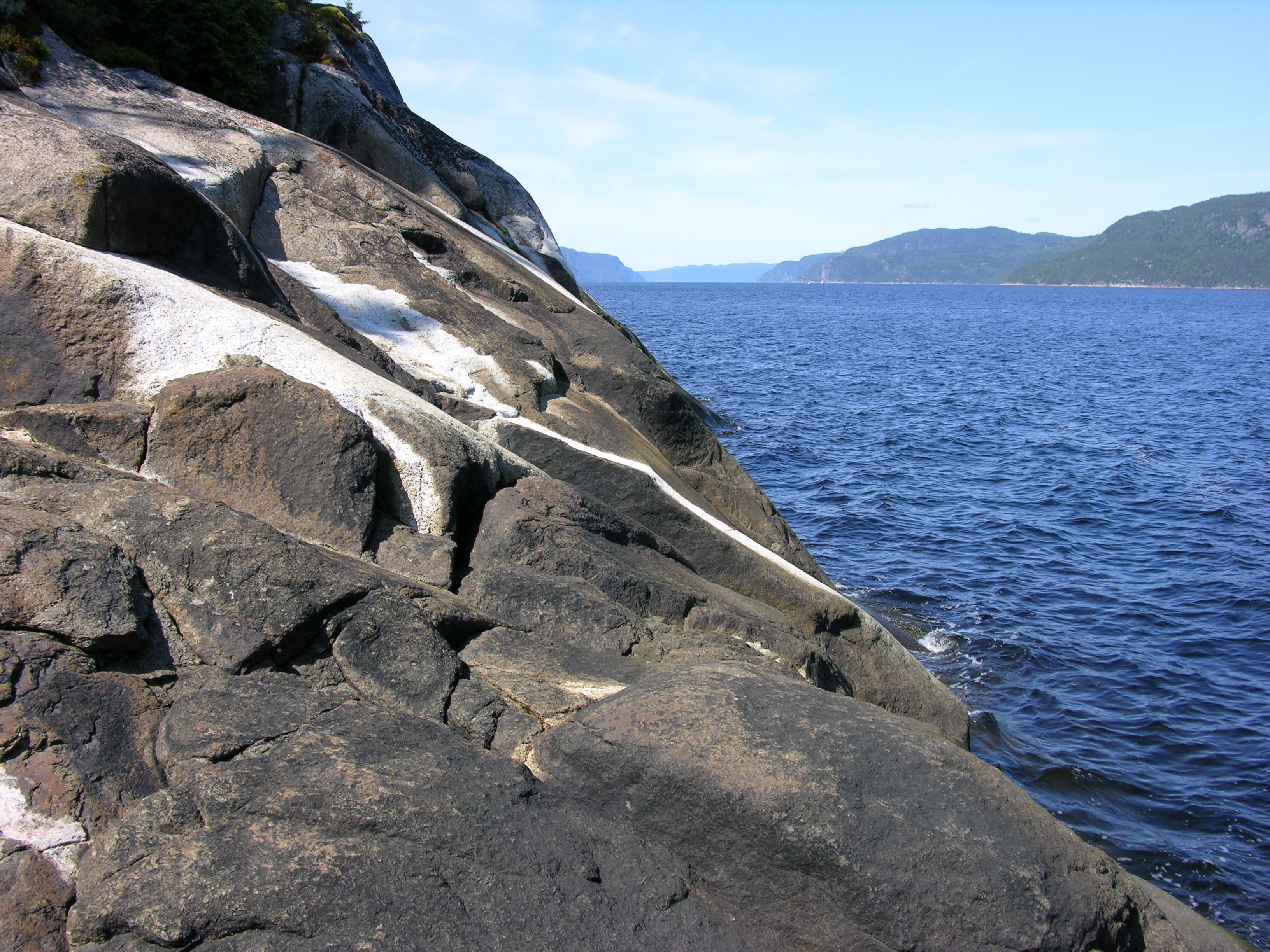 Le fjord du Saguenay (Photo: Réhaume Courtois)