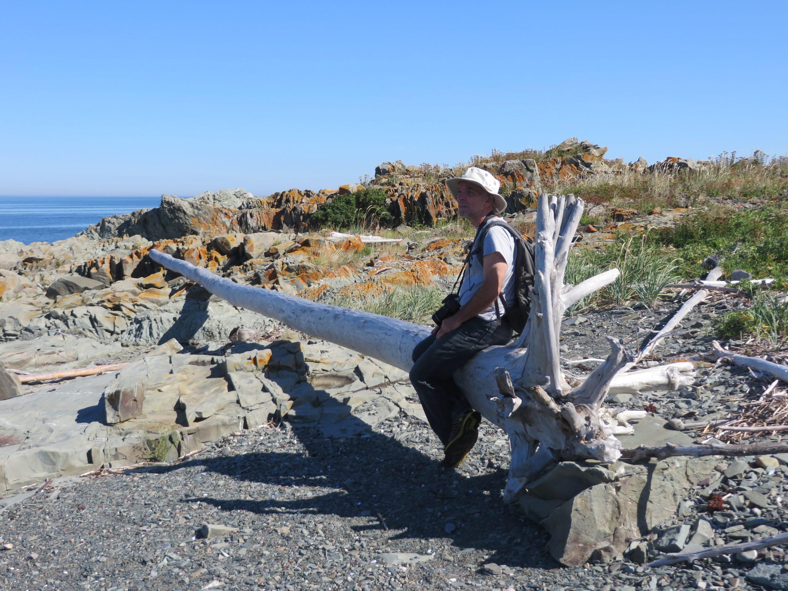 Le Parc naturel et historique de l'île aux Basques (Photo: Réhaume Courtois)