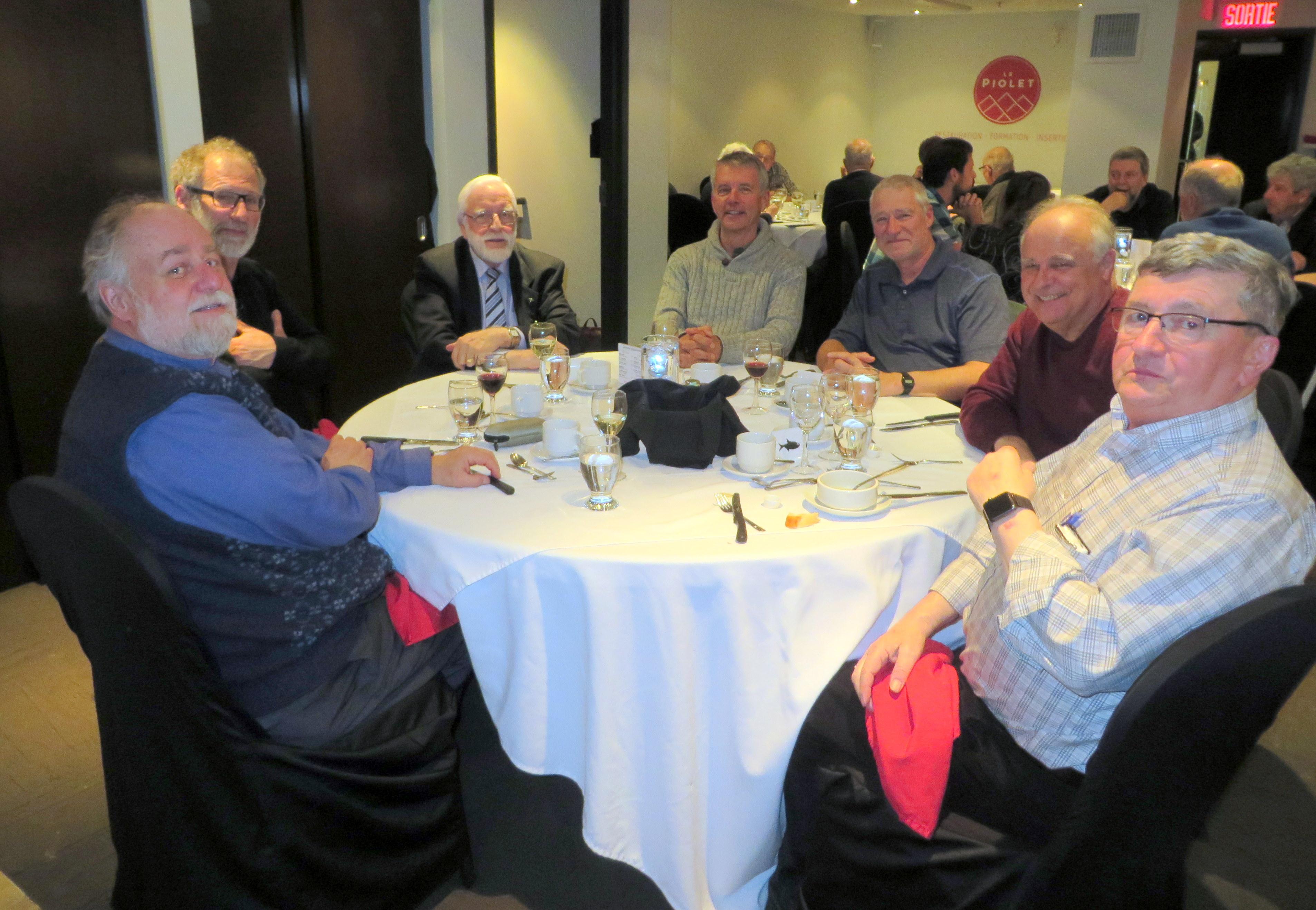 Soirée hommage aux bénévoles de la Société Provencher le 23 mars 2017 au restaurant Le Piolet de Loretteville. (Photo: Réhaume Courtois)