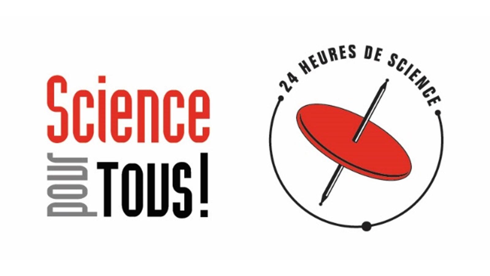 Logo Science pour tous! 24 heures de science