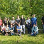 Sortie d'étudiants à la Réserve naturelle du Marais-Léon-Provancher