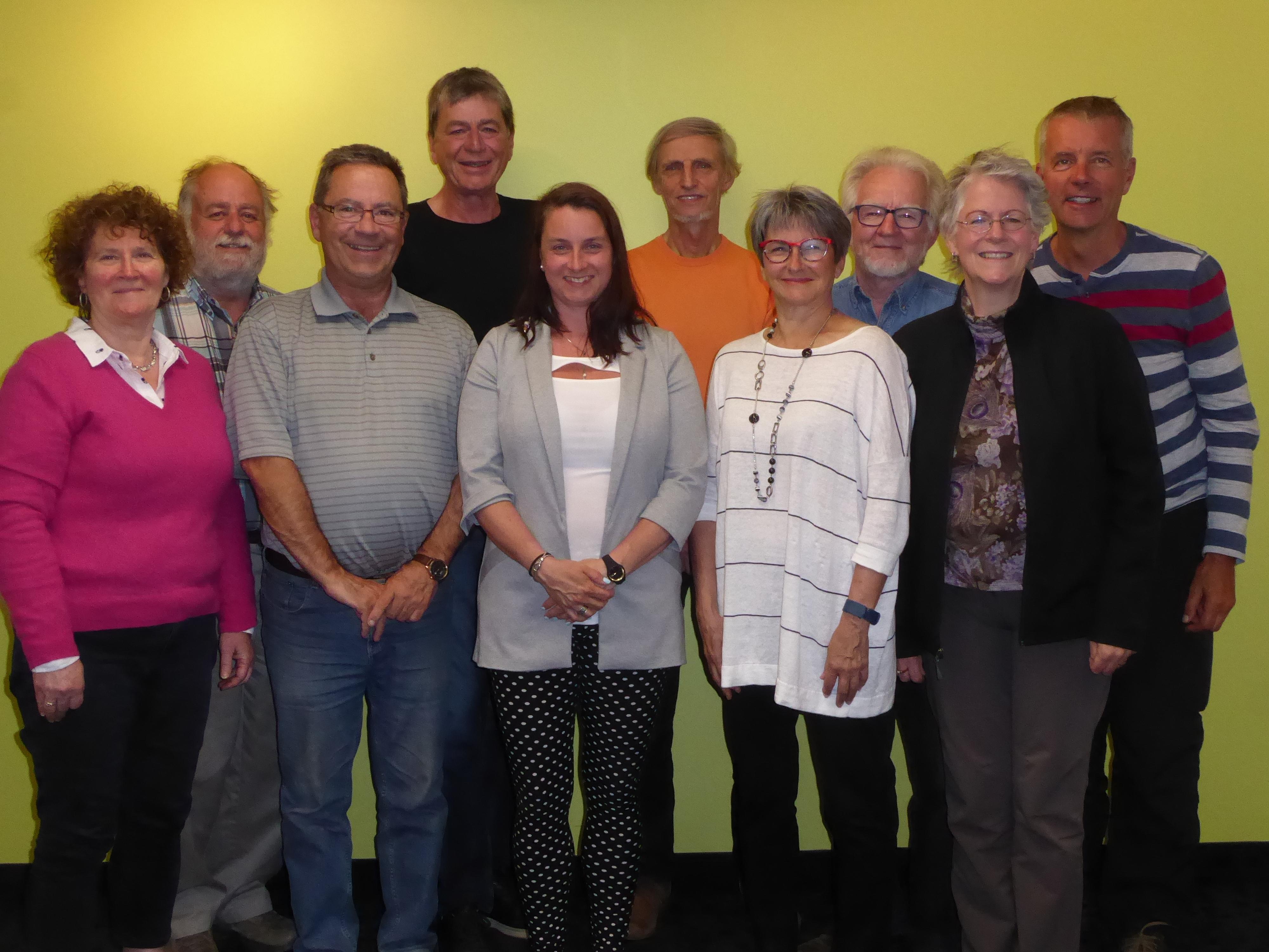 Les membres du conseil d'administration de la Société Provancher en 2018. Photo: Jean Tremblay.