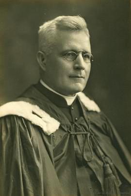 Mgr Joseph-Philéas Fillion, premier président de la Société Provancher. Source: Archives de Montréal.