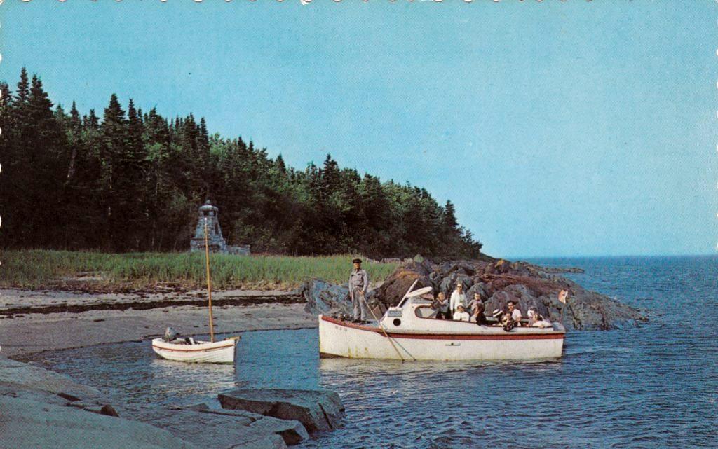 Le bateau de Charles Morency : le Provancher
