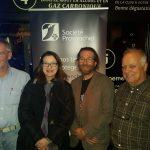 Perte de biodiversité. Bar des Sciences 2018: Fritz Neuviller, Nathalie Barrette, Philippe Legagneux, Jean-Luc Desgranges. Photo : Pierre Fontaine