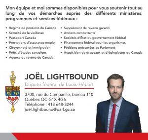 Joël Lightbound, député fédéral de Louis-Hébert