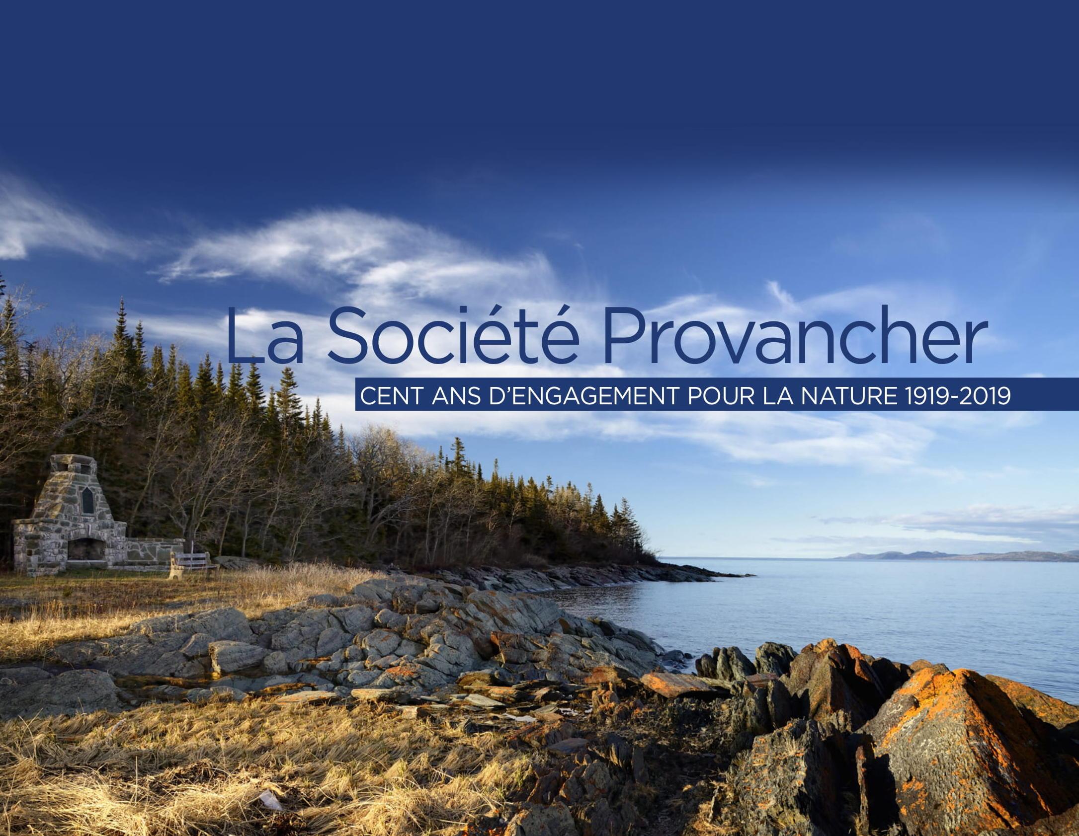 Page couverture du l'album-souvenir du centenaire de la Société Provancher