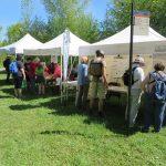 """Kiosques d'information lors de la Fête des voisins """"Charmants voisins"""", le 8 juin à la Réserve naturelle du Marais- L.éon-Provancher."""