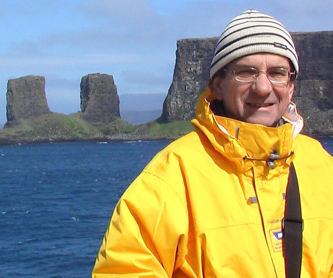 Émilien Pelletier, océanographe-chimiste de l'Institut des Sciences de la mer de Rimouski ISMER. Photo: courtoisie