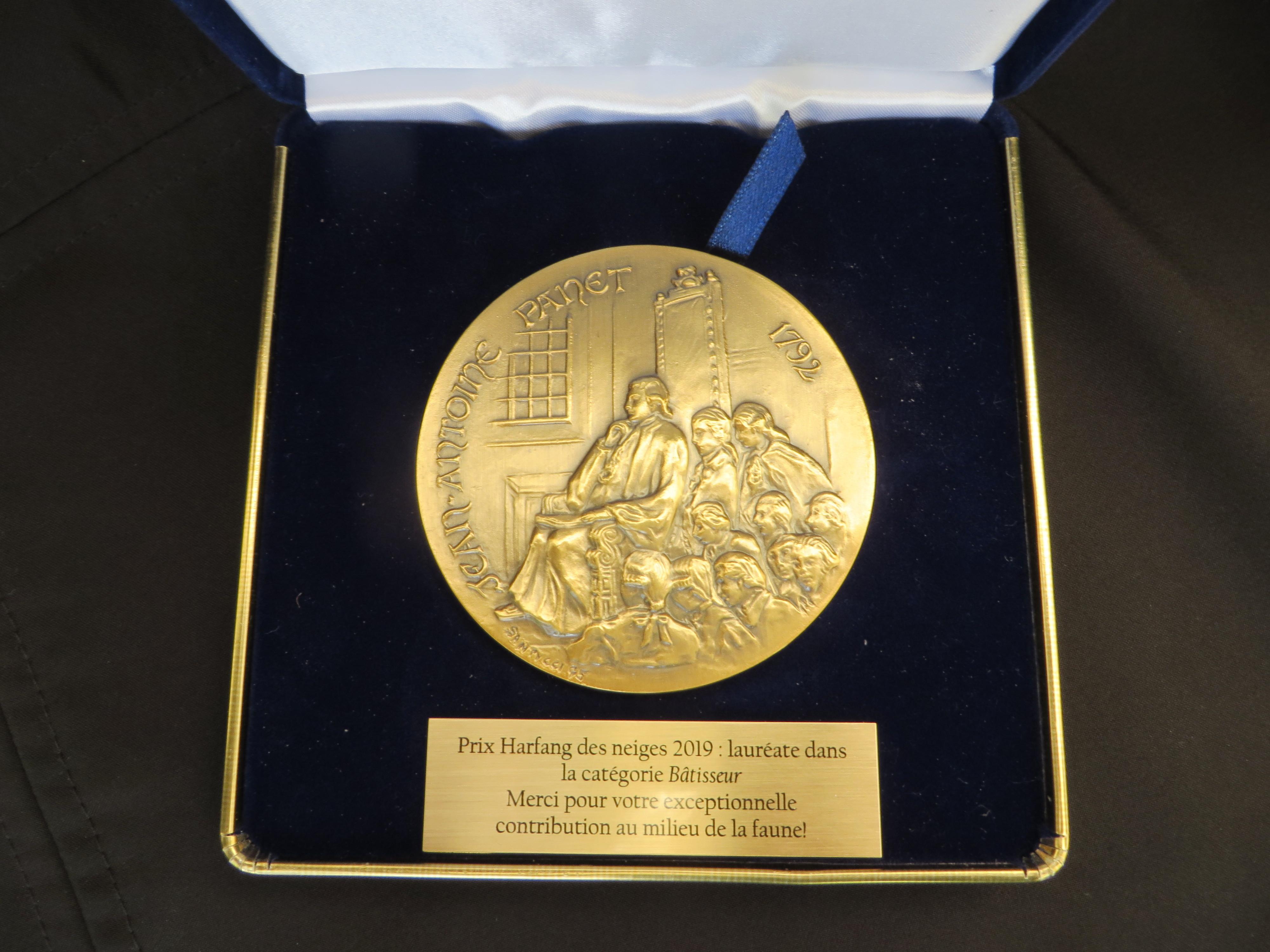 La Société Provancher lauréate du Prix Harfang des neiges, catégorie Bâtisseur