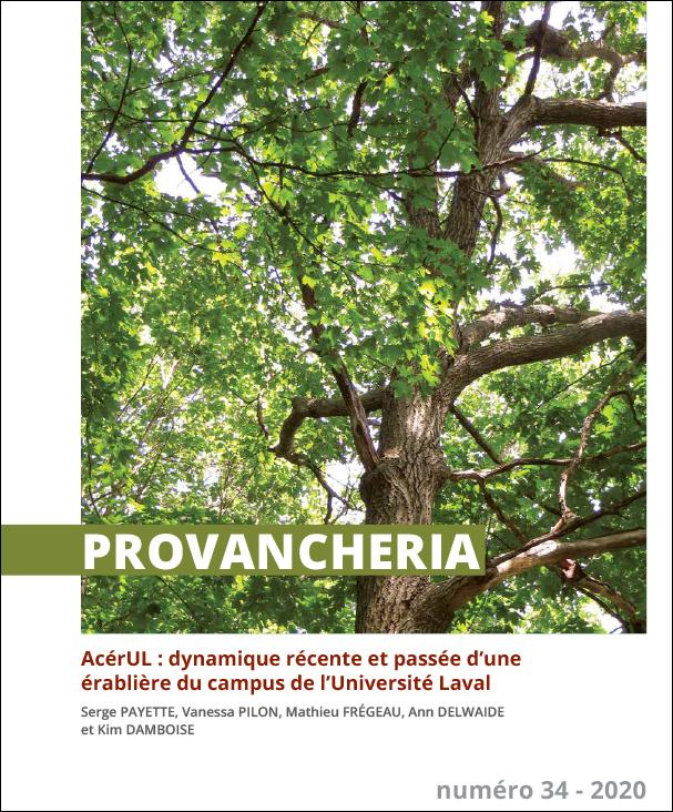 La revue scientifique Provancheria est publiée par l'Univsersité Laval. Elle est consacrée à la diffusion de connaissances scientifiques sur la flore.