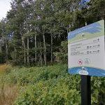 Nouvelle signalisation au parc naturel et historique de l'Île-aux-Basques