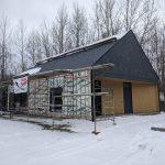 Voici un aperçu du nouveau pavillon d'accueil à la réserve naturelle du Marais-Léon-Provanche, en date du 25 novembre 2020.