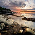 Parc naturel et historique de l'Île-aux-Basques. Crédit photo: Yvan Bédard