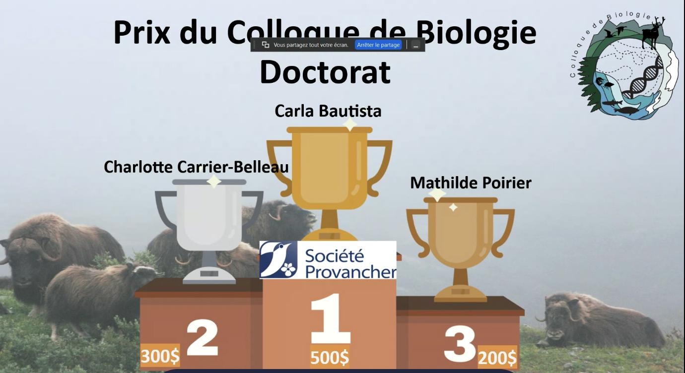 Colloque de biologie de l'Université Laval