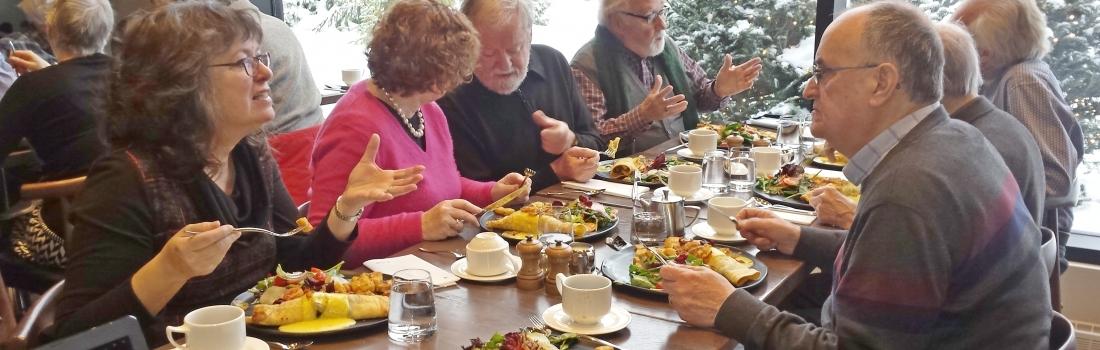 Déjeuner des anciens administrateurs de la Société Provancher