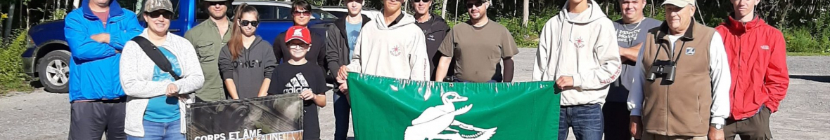 Jeunes chasseurs de sauvagine en fin d'apprentissage: la relève 2019