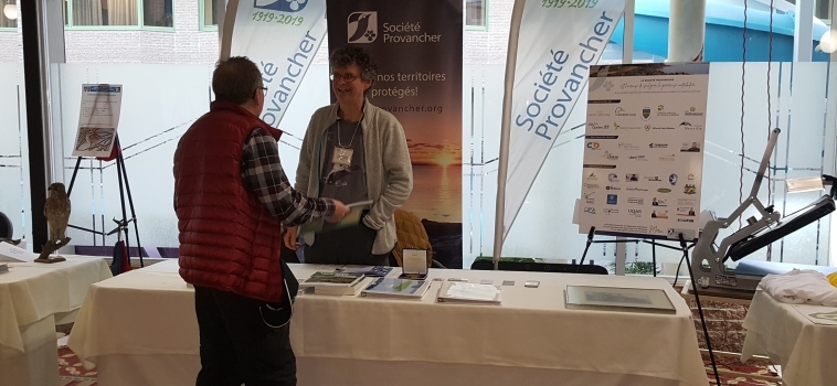 Participation au congrès ornithologique QuébecOiseaux