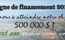 Campagne de financement 2018-2020