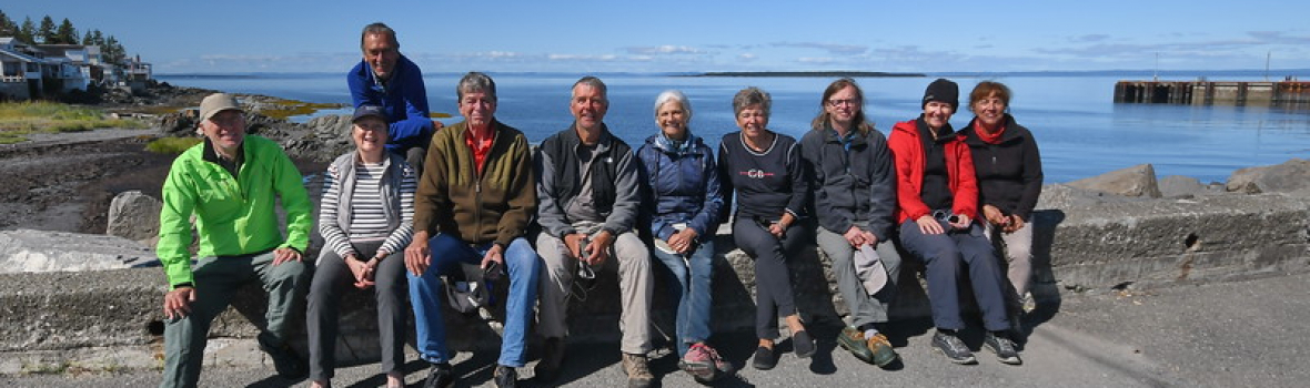Joyeuse corvée de bénévolat à l'île aux Basques
