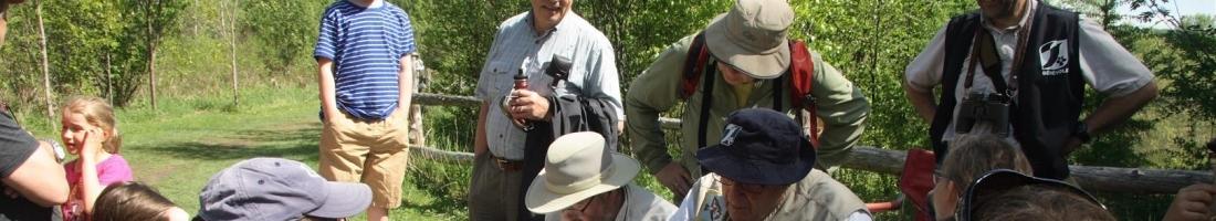 Baguage des oiseaux 2017 ce samedi 3 juin à la Réserve naturelle du Marais-Léon-Provancher