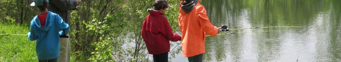 Initiation à la pêche les 9 et 10 juin 2018  à la Base de plein-air de Ste-Foy