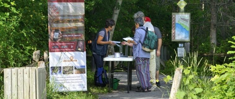 Contribution de Desjardins pour la Réserve naturelle du Marais-Léon-Provancher