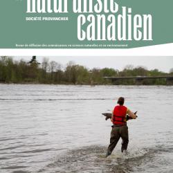 La première tranche du Naturaliste canadien de l'automne 2021 est maintenant disponible