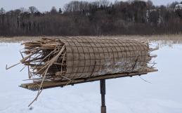 Travaux d'entretien des nichoirs du marais Léon-Provancher