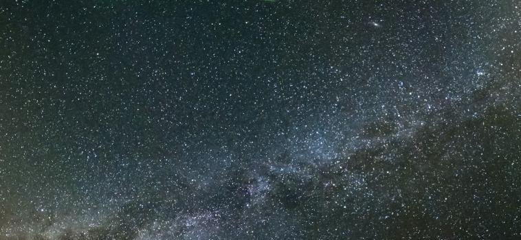 La nuit des Perséides et des chauves-souris