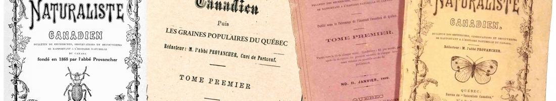 Le Naturaliste canadien a 150 ans
