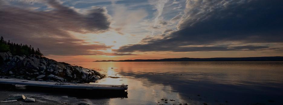 Réservation des chalets à l'île aux Basques en 2021